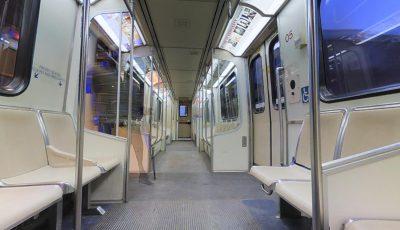 Modelo de Vagon de Metro 3D Model